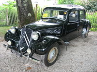 Citroën Traction Avant (1934 et 1957)
