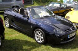 Voitures de Luxe Occasion 2002 MG TF